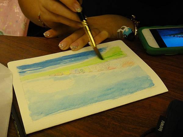 》學生淡彩卡片製作(LaLa)-2