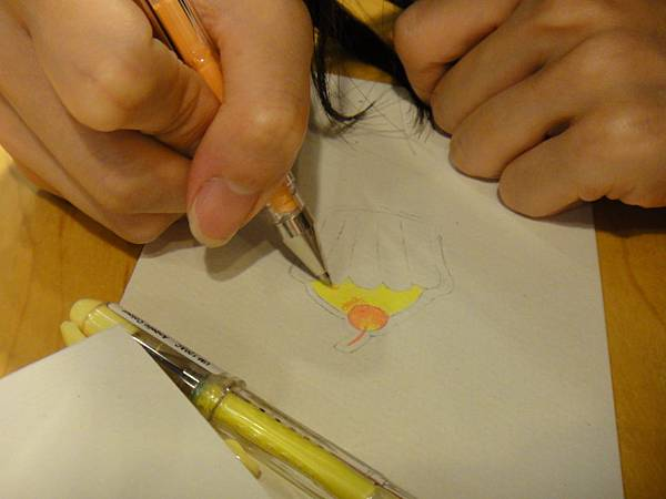 》學生鋼珠筆塗抹體驗(2)
