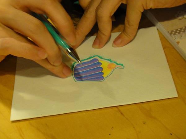 》學生鋼珠筆塗抹體驗(6)