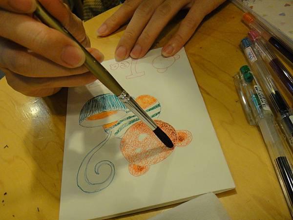 》學生鋼珠筆刷水體驗(6)