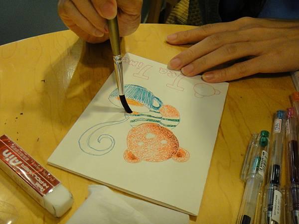 》學生鋼珠筆刷水體驗(5)