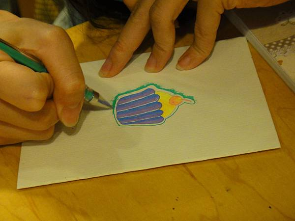 》學生鋼珠筆塗抹體驗(5)