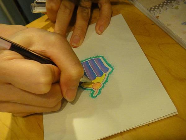 》學生鋼珠筆塗抹體驗(7)