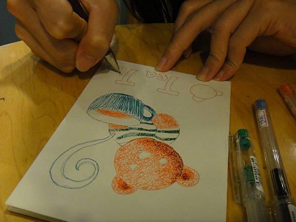 》學生鋼珠筆刷水體驗(4)