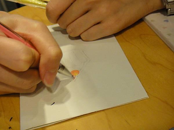 》學生鋼珠筆塗抹體驗(1)