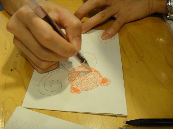 》學生鋼珠筆刷水體驗(1)