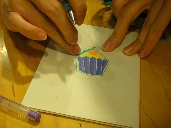 》學生鋼珠筆塗抹體驗(4)