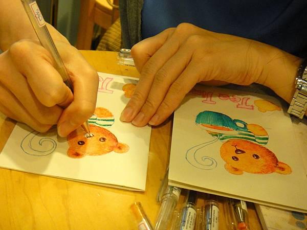 》學生鋼珠筆刷水體驗(7)