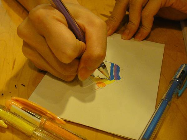 》學生鋼珠筆塗抹體驗(3)