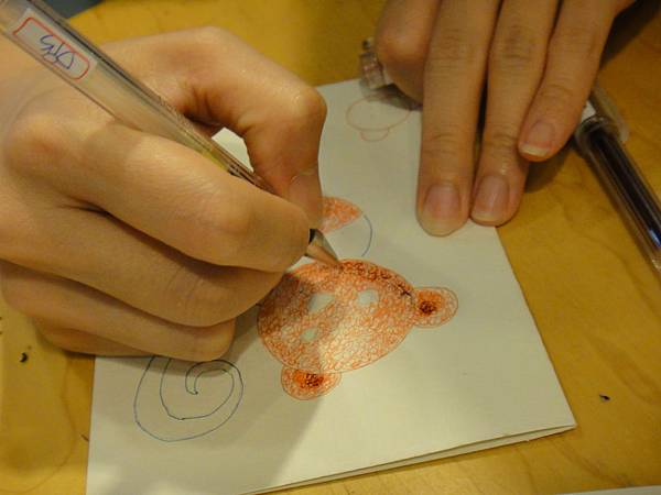 》學生鋼珠筆刷水體驗(2)