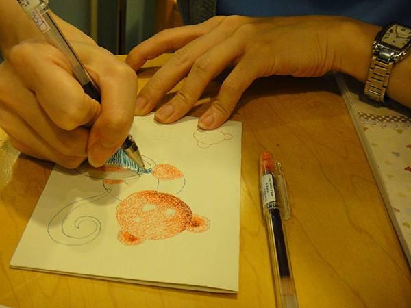 》學生鋼珠筆刷水體驗(3)