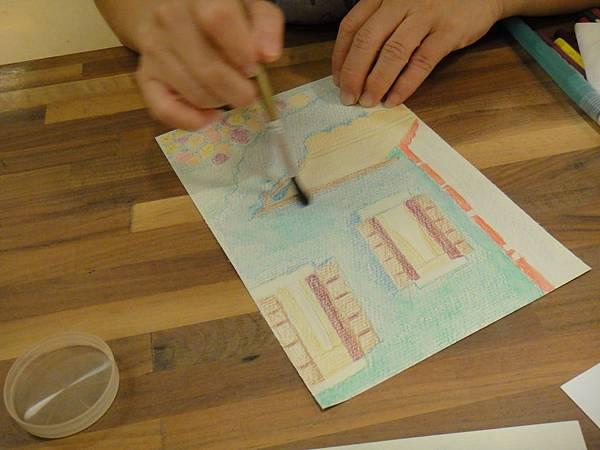 》學生色鉛刷水練習(6)