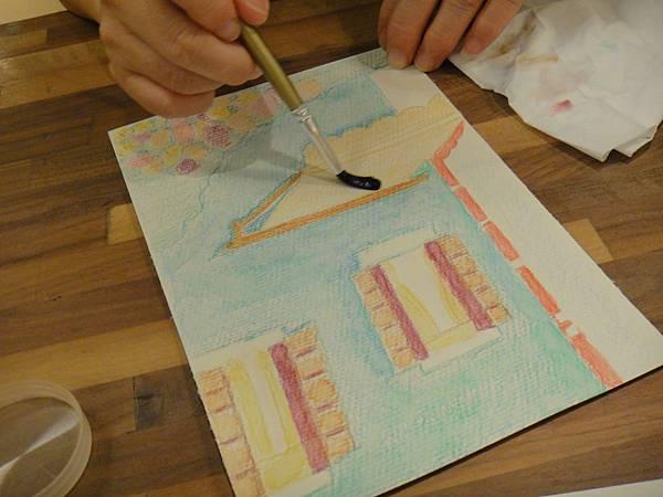 》學生色鉛刷水練習(7)