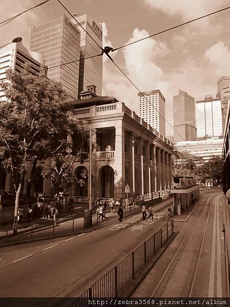 城市的陌生,香港