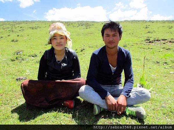 新婚藏族夫婦