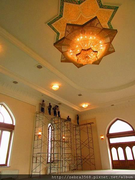 Khazrati Imam Mosque高架