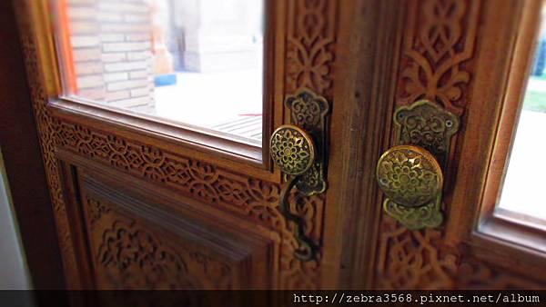 Khazrati Imam Mosque門把