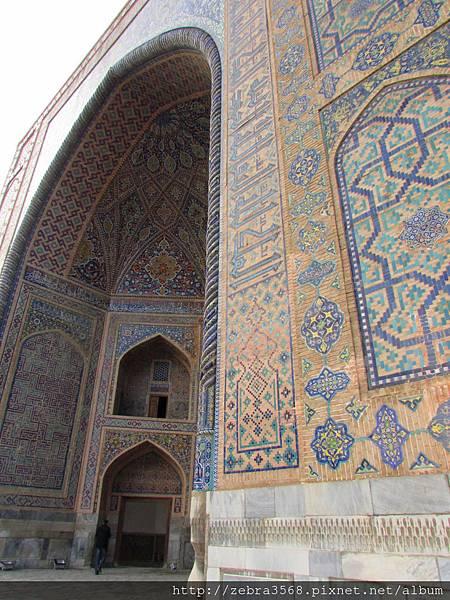 Medressah拱門