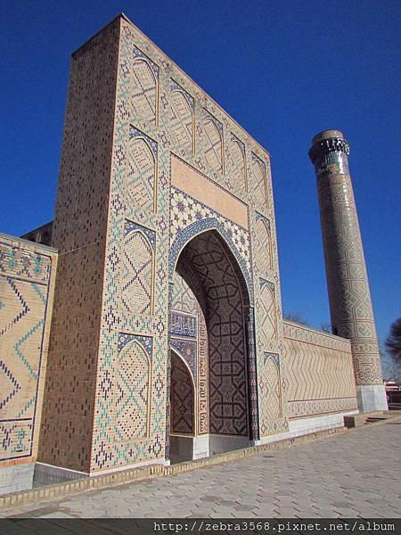 Bibi Khanym Mosque側面拱門