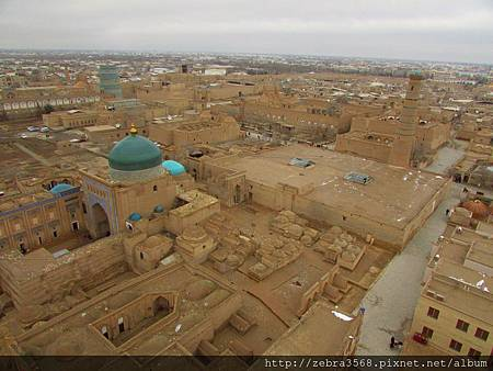 希瓦古城一景-Pakhlavan Mahmud Complex