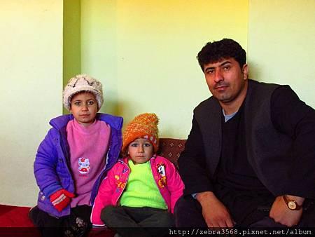 Kazai與他的女兒