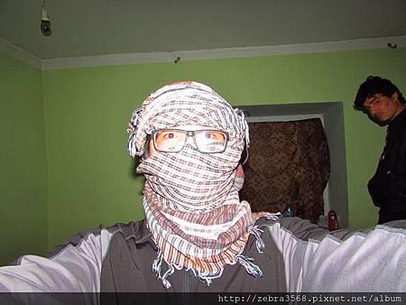 阿富汗標準頭飾