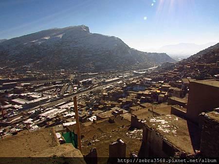 從Osmoi Mt.俯瞰的喀布爾