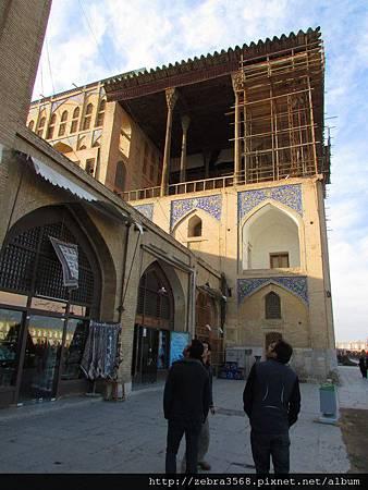Ali Qapu The royal palace