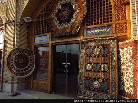 巴扎的地毯小店