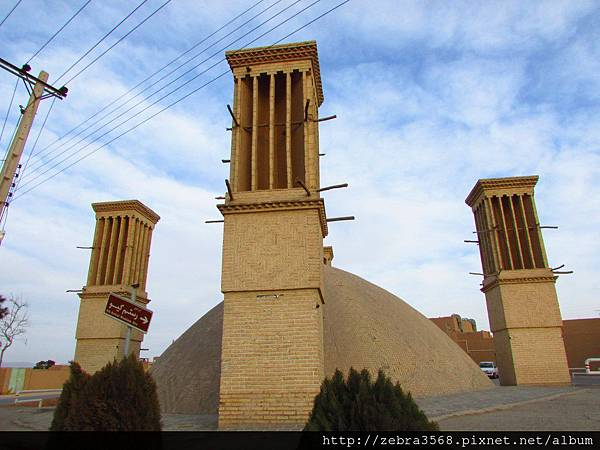 Yazd的捕風塔Badgir