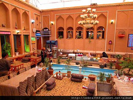 Yazd餐館內部