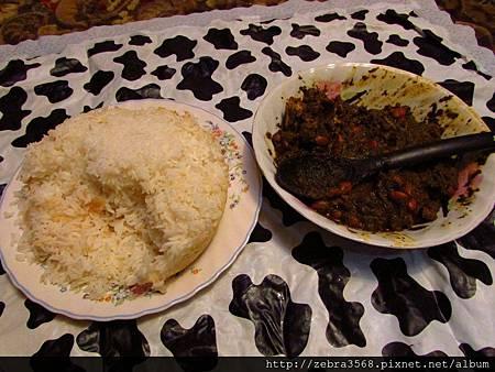 Saleh & Oti 的自備晚餐