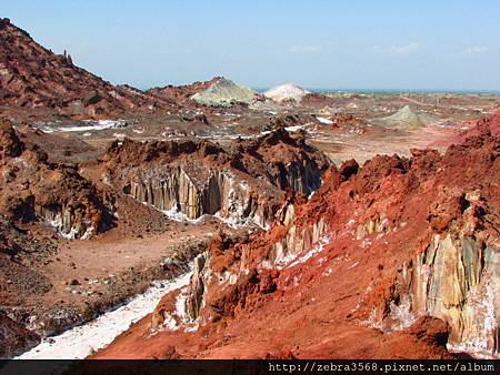 Hormuz Island - 中心鹽地