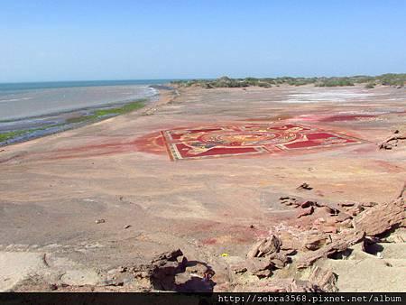Hormuz Island - 海灘地毯
