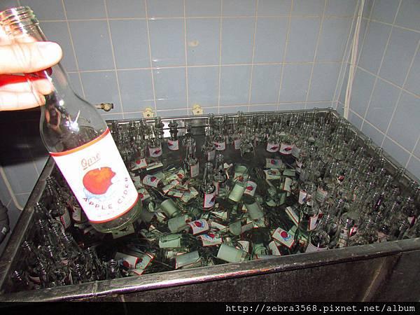 Cider工廠洗瓶機