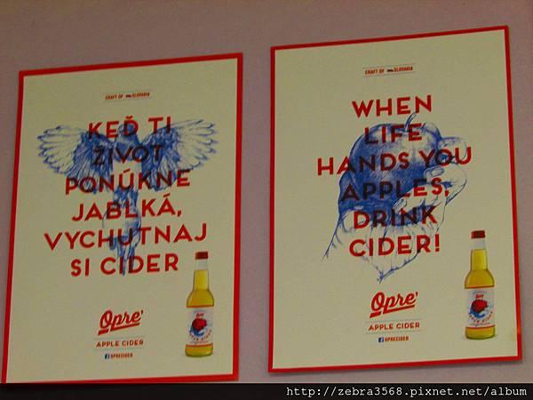 Cider in hands