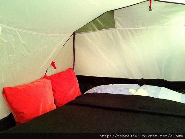 舒適的花園帳篷