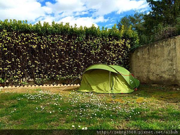 帳篷外部及花園