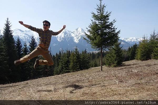Jumping on High Tatra