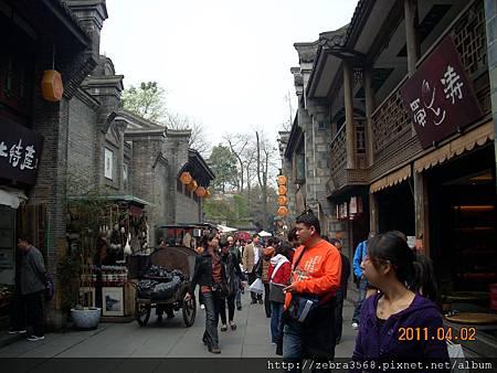 古色古香的街道