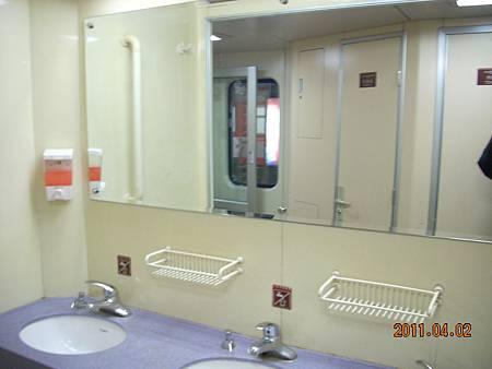 火車上的盥洗室