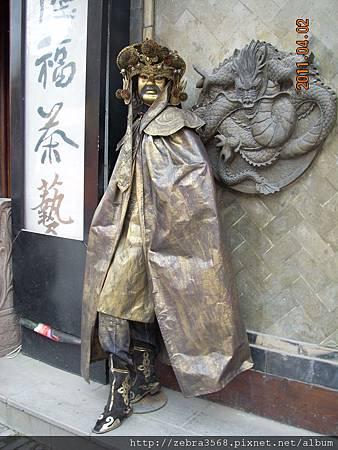 街頭藝人嚇死人