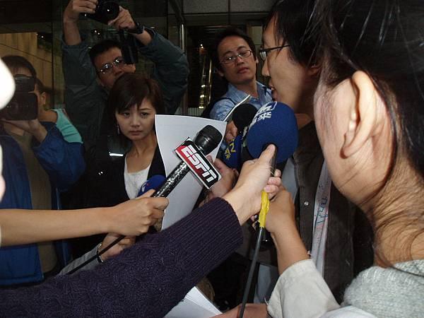 藤井樹接受採訪