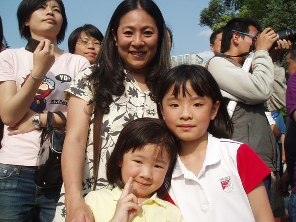 小霸王的阿姨和姪女(?)