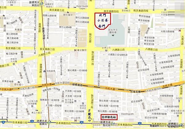 小巨蛋_南京東路4段2號