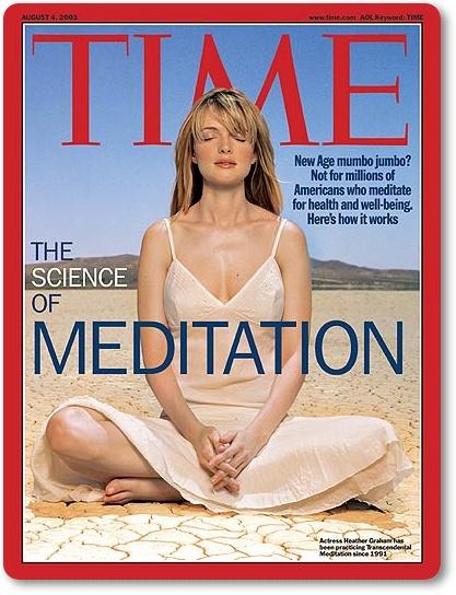 美國時代雜誌 - 靜坐