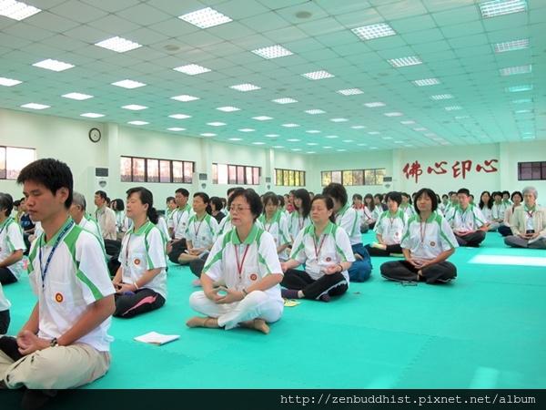 2012暑期教師生命智慧禪定營_在定中,做身心靈的充電