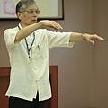2012暑期教師生命智慧禪定營_功明師兄示範達摩禪功:甩手通脈