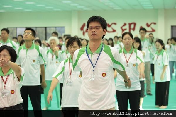 2012暑期教師生命智慧禪定營_老師們專注的練習