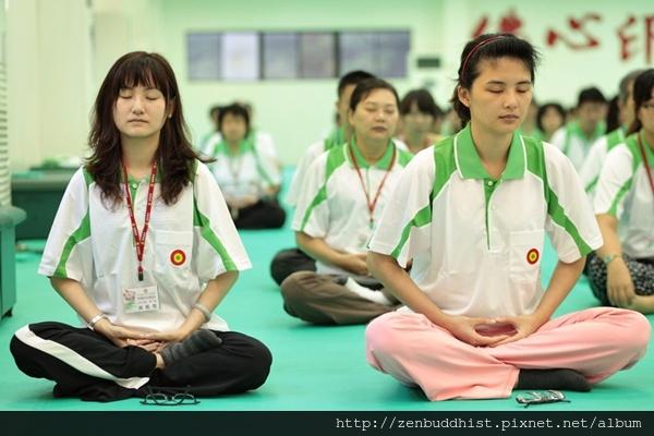 2012暑期教師生命智慧禪定營_在定中,接收禪的大智慧力
